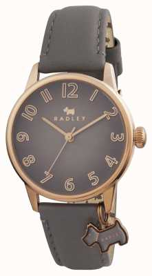 Radley Womans blair gris bracelet en cuir RY2248