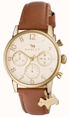 Radley Womans avenue électrique chrono cuir marron RY2460
