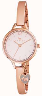 Radley Womans Love Lane Bangle or rose RY4268