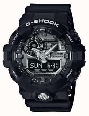 Casio Mens g-shock analogique chronographe numérique marine GA-710-1AER