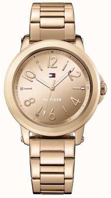 Tommy Hilfiger Bracelet en or rose en acier inoxydable pour femme 1781752