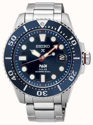 Seiko | prospex | padi | édition spéciale | solaire | SNE435P1