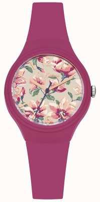 Cath Kidston Bandoulière imprimé floral en cuir rose pour femme CKL029P