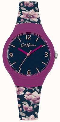 Cath Kidston Womans marine floral bracelet en silicone imprimé CKL028UP