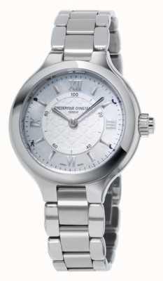 Frederique Constant Womans délice argent smartwatch horloger FC-281WH3ER6B