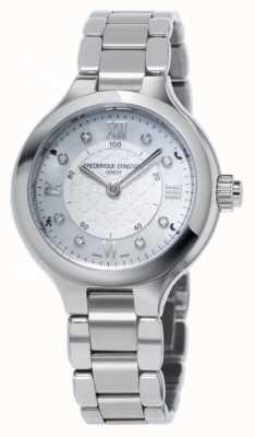 Frederique Constant Womans délice argent smartwatch horloger FC-281WHD3ER6B
