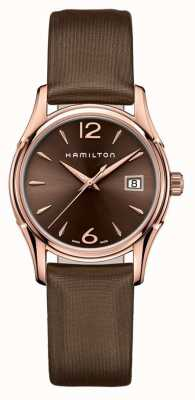 Hamilton Womans jazzmaster 34mm marron H32341975