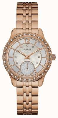 Guess Womans whitney rose plaqué or W0931L3