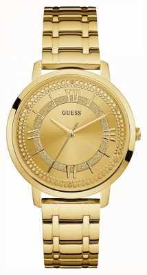 Guess Bracelet plaqué or pour femme Montauk W0933L2