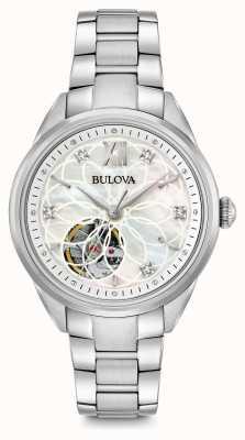 Bulova automatique montre en diamant des femmes 96P181
