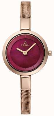 Obaku Womans siv ruby V129LXVQMV