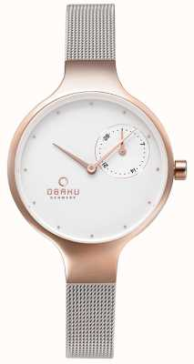 Obaku Womans eng rose gold V201LDVWMC