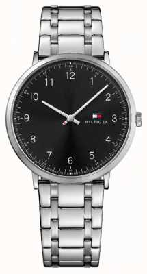 Tommy Hilfiger Montre en acier inoxydable Mens james 1791336
