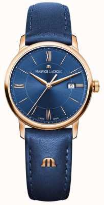 Maurice Lacroix cuir bleu Womans EL1094-PVP01-411-1