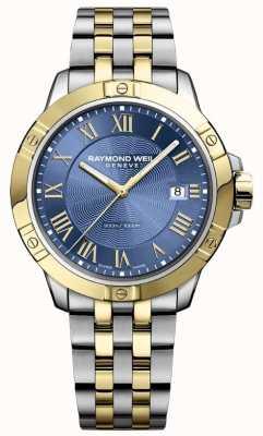 Raymond Weil Montre homme tango   bracelet en acier inoxydable   cadran bleu profond   8160-STP-00508