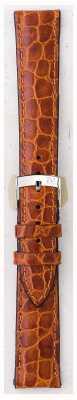 Morellato Courroie seulement - liverpool croc cuir marron clair 20mm A01U0751376037CR20
