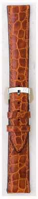 Morellato Courroie seulement - liverpool croc cuir marron clair 16mm A01U0751376037CR16