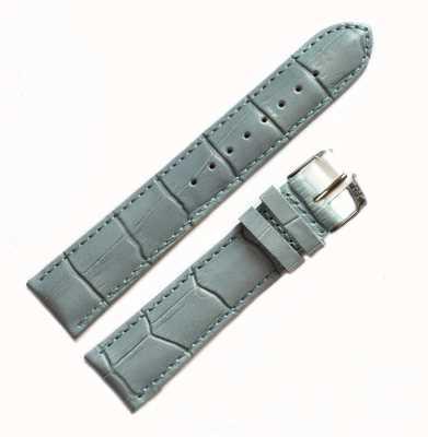 Morellato Courroie seulement - samba alligator bleu clair 20mm A01X2704656068CR20