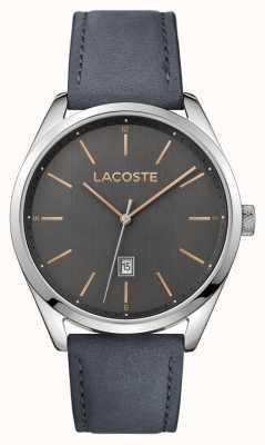 Lacoste Bracelet en cuir gris homme san diego gris 2010911