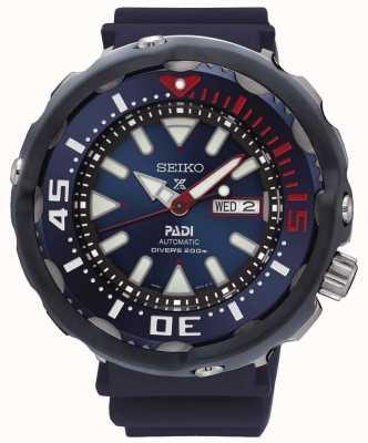 Seiko Hommes plongeurs Prospex Padi édition spéciale cadran bleu automatique SRPA83K1