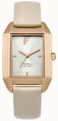 Fiorelli Womans bracelet en cuir nu chameau cadran soleillé FO034CRG