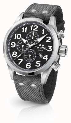TW Steel Chronographe 45 mm volant gris pour homme VS13