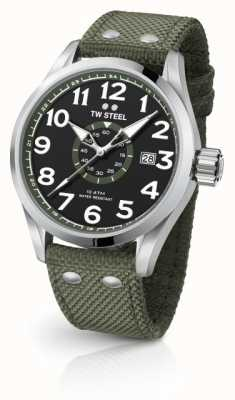TW Steel Hommes volante army green 45mm VS21