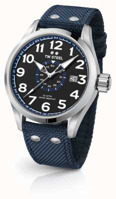 TW Steel Mens volante bleu 48mm VS32