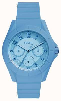 Fossil Chronographe poptastic femme bleu ES4189