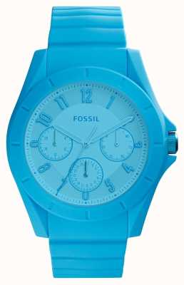 Fossil Chronographe poptastic femme bleu vif FS5287
