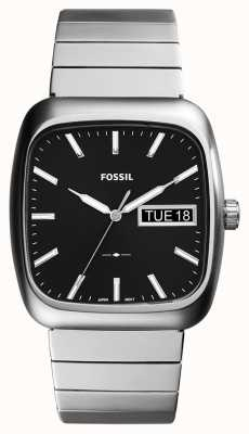 Fossil Hommes rutherford argent métal FS5331