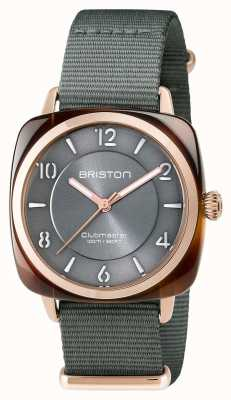 Briston Unisex clubmaster chic gris acétate pvd or rose 17536.PRA.T.11.NG