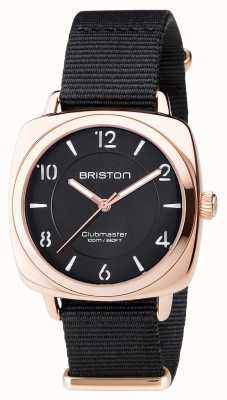 Briston Clubmaster chic unisexe pvd noir or rose 17536.SPRG.L.1.NB