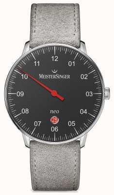 MeisterSinger Forme et style mensuels néo plus noir automatique NE402