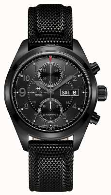 Hamilton Khaki field auto chrono * montre du jack Ryan de Tom Clancy * H71626735