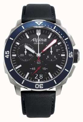 Alpina Mens seastrong diving 300 big date AL-372LBN4V6