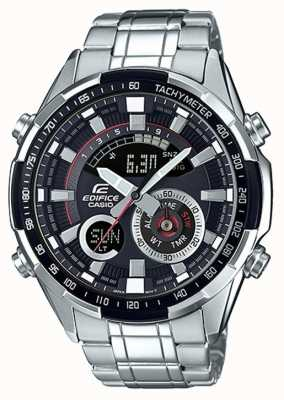 Casio Montre Edifice avec chronographe tachymètre ERA-600D-1AVUEF