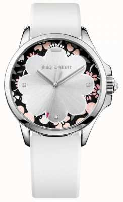 Juicy Couture Womans jetsetter blanc bracelet en silicone 1901568
