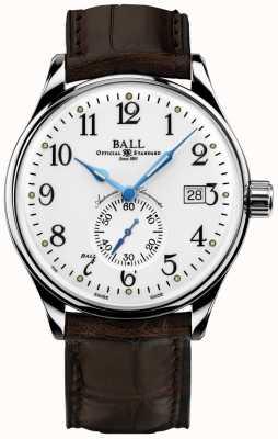 Ball Watch Company Chronomètre chronomètre pour hommes trainmaster NM3888D-LL1CJ-WH