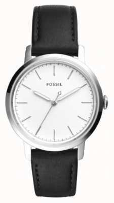 Fossil Bracelet en cuir noir noir ES4186