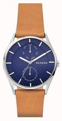 Skagen Bracelet en cuir bronzage SKW6369