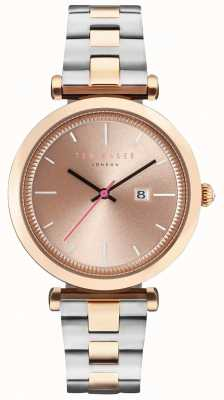 Ted Baker Womans ava 36mm rose étui en or à deux tons TE10031523