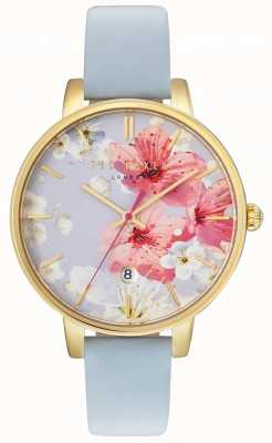 Ted Baker Womans kate floral dial bleu TE10031546