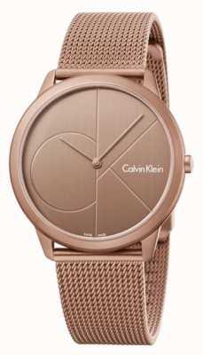 Calvin Klein Bracelet en maille en acier inoxydable K3M11TFK