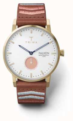 Triwa Unisex coral falken brodé brown classic FAST113-CL070213
