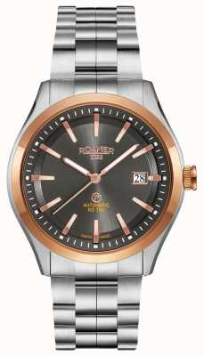 Roamer Rd100 automatique | bracelet en acier inoxydable | cadran noir 951660-49-05-90