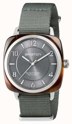 Briston Unisexe clubmaster plongeur tortue shell acétate auto gris 17642.SA.TD.17.NG