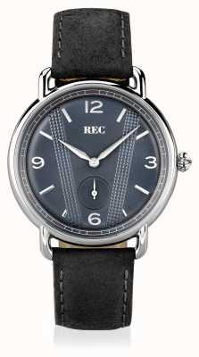 REC Cooper c1 bracelet en cuir de veau gris C1