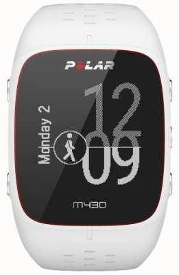 Polar Montre de sport en caoutchouc blanc M430 90064407