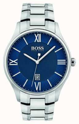 Hugo Boss Montre classique à quartz bleu 1513487